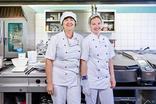 Team Küche Seniorenheim